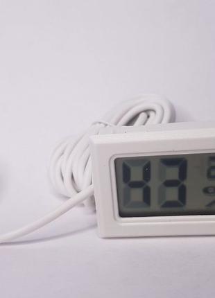 Бытовой термометр гигрометр FY-12 с выносным датчиком 1,5 метр...