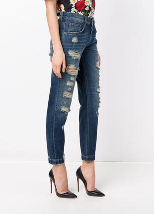 Dolce and gabbana оригинал италия джинсы boyfriend высокая талия