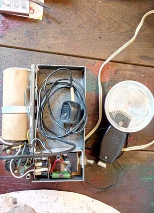 Фотовспышка Чайка чехол в комплекте Под ремонт