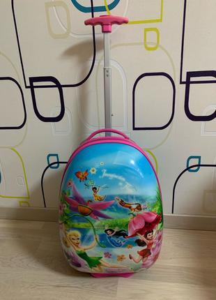 Детский чемодан heys пластиковый на 2- х колёсах
