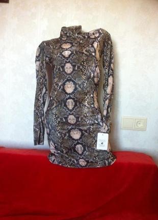 Модное платье для стройной девушки