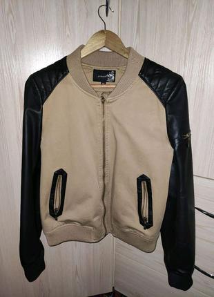 Женская куртка бомбер 42-44