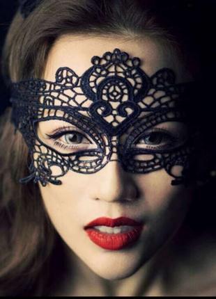 Маска на глаза. Сексуальная маска. Эротические аксессуары.