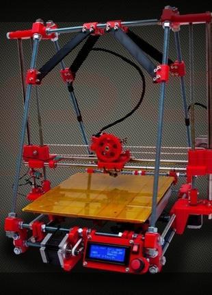 BiB ONE, комплект пластиковых деталей для сборки 3Д принтера