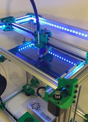 D-Bot Core-XY  комплект пластиковых деталей для сборки 3Д принтер