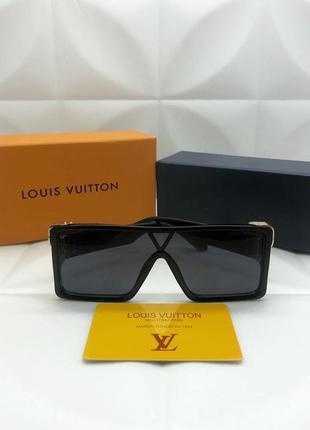 Женские солнцезащитные очки в стиле louis vuitton