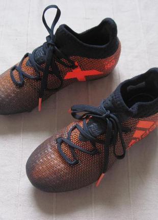 Adidas x 17.1 fg j (31) бутсы копочки детские