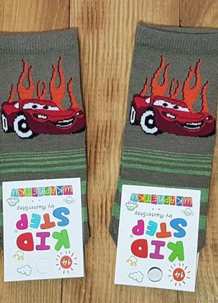 """Носки для мальчика """"тачка"""", размер 14 / 1-2 года"""