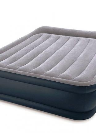 Двухспальная надувная кровать Intex 64136 со встроенным насосом 2