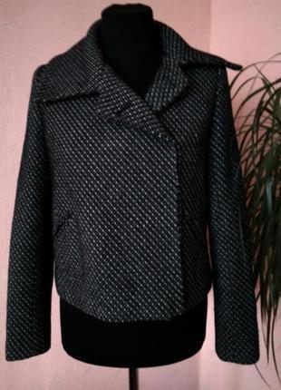New look стильное укороченное пальто