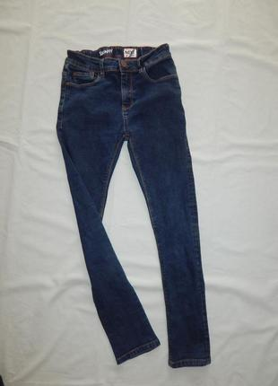 Джинсы модные skinny на 12 лет 152 см