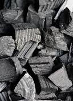 Уголь древесной  для камина