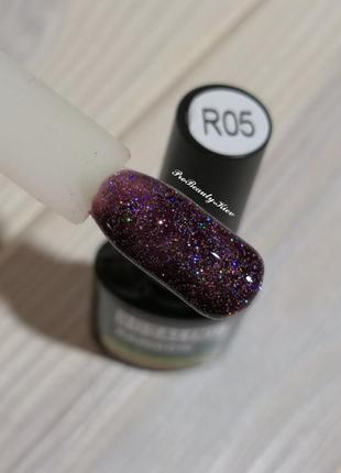 R05 гель лак 10 мл rosalind бордо шиммер probeauty