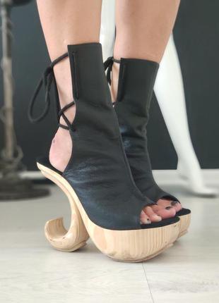 Karo's shoes. босоножки из натуральной кожи.