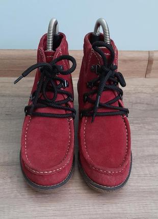 Ботинки от bama натуральная замша размер 38
