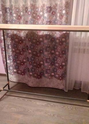 Барная стойка, кухонный стол, барный стол лофт. Мебель для бара.