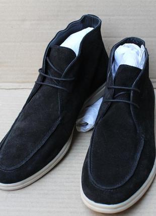 Ботинки mexx footwear black 11 1102 6153 оригінал натуральна з...