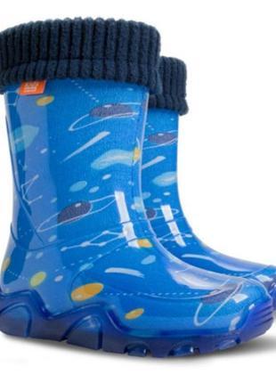 Резиновые сапоги demar демар  гумові чоботи чобітки для мальчи...