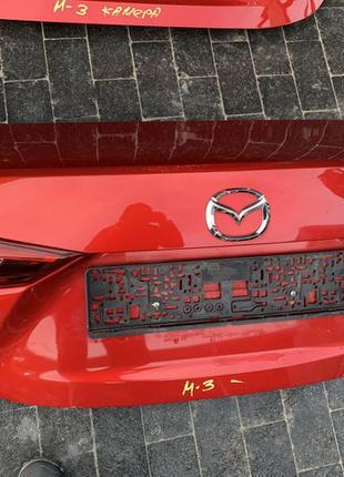 Крышка кришка багажника Mazda Мазда 3 BM 2014