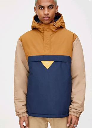 Парка . Анорак . Куртка осенняя pull&bear