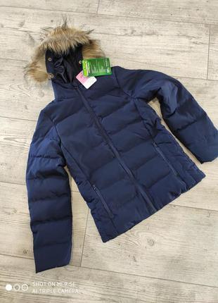 Куртка пуховик 152 см