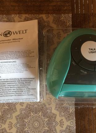 Цифровой будильник с термометром IDEEN WELT P8-RM-TSAC