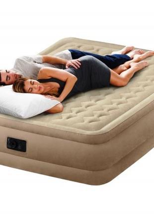 Двухспальная надувная кровать Intex 64458 со встроенным насосом