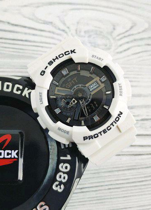 Часы Casio G-Shock GA-110 White-Black