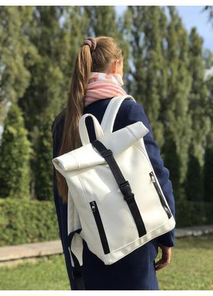 Стильная сумка рюкзак roll