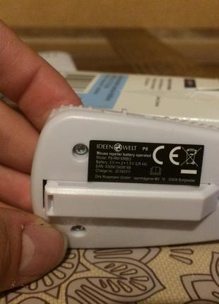 Отпугиватель мышей на батарейках IDEEN WELT P8-RM-MRBO