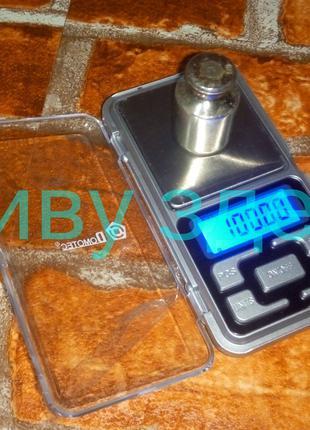 Карманные ювелирные электронные весы 200г - 0,01 90грн