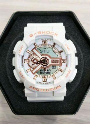 Casio G-Shock GA-110 White-Cuprum