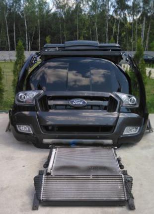 Бампер, капот, фары, двери, крышка, Ford Ranger б\у из Европы