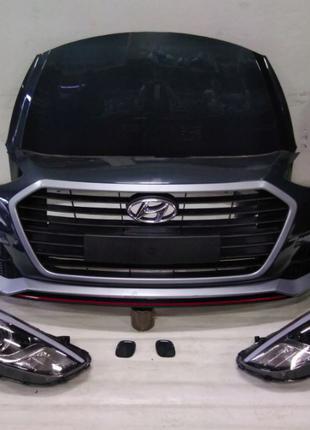 Капот, бампер, дверь, крыло, четверть, фара, Hyundai i30 (Хюнд...