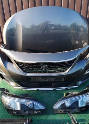 Бампер, капот, фары, двери, крышка, крылья Peugeot 3008 б\у из...