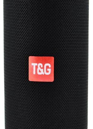 Портативная bluetooth колонка влагостойкая TG-117 черный