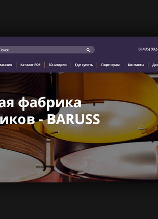 Создание сайтов: лендинг, многостраничный сайт, интернет-магазин