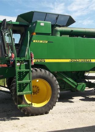Зерновой Комбайн Джон Дир John Deere 9610 из США 4500 моточасы