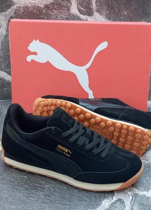 Puma easy rider мужские кроссовки,замшевые,осенние