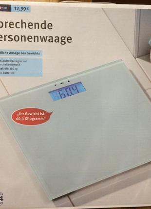 Весы говорящие для ванной IDEEN WELT P8-RM-PSS