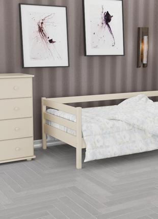 Кровать деревянная односпальная из массива дерева