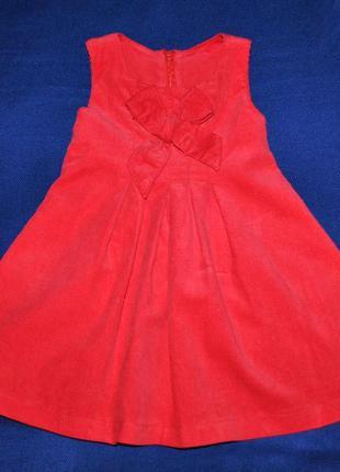 Фирменное платье р.86