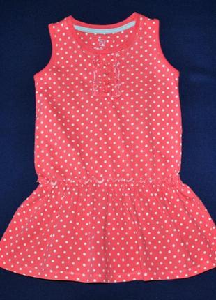 Фирменное платье tu на 1-2года