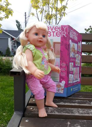 Кукла интерактивная OlaBaby Любимая сестричка WZJ 016