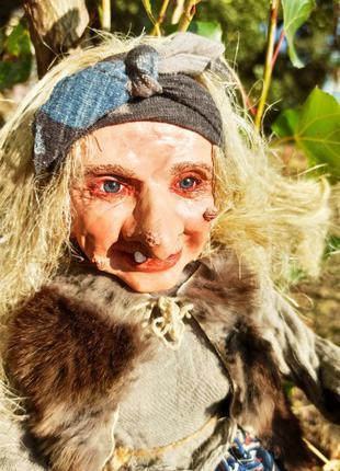 Баба Яга кукла ручной работы