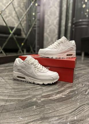 Nike air max 90 full white