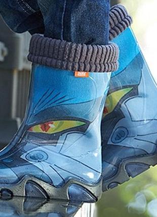 Резиновые сапоги demar демар гумові чоботи чобітки для мальчик...