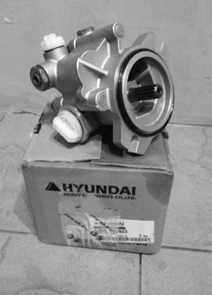 Ремонт шестеренчатого насоса Hyundai
