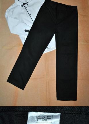Школьные брюки f&f на 7-8 лет