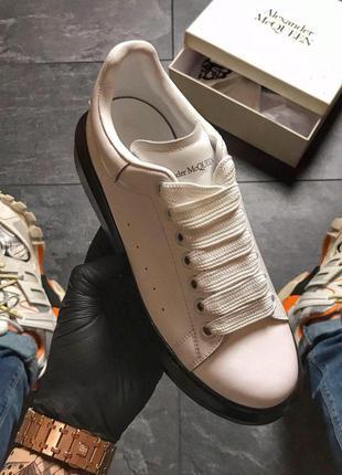 Шикарные женские кроссовки 🔥 alexander mcqueen white black